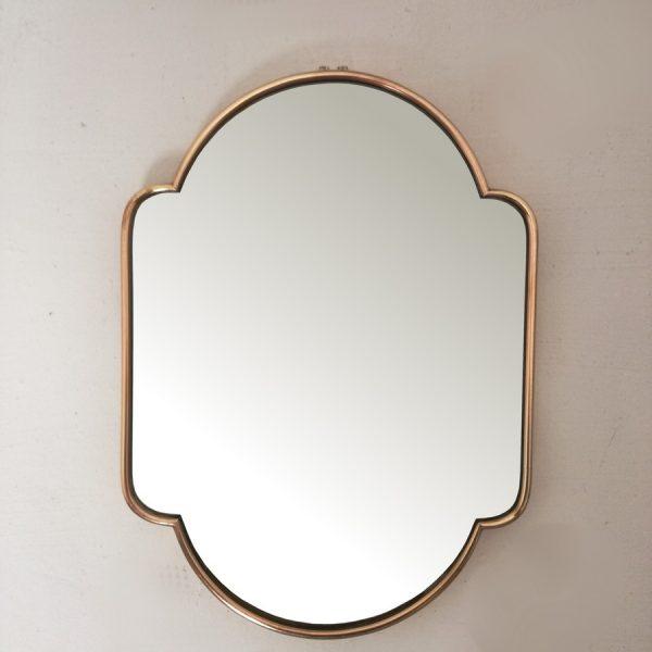 Specchio-sagomato-ottone-anni-50